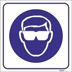 c5a7b8170c6d2 AMAN.PT - outlet obrigação P - Uso obrigatório de óculos de proteção